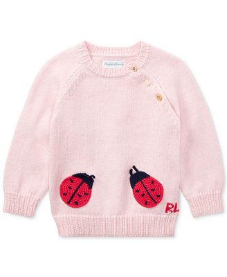 Polo Ralph Lauren Ralph Lauren Cotton Sweater Baby Girls Sweaters
