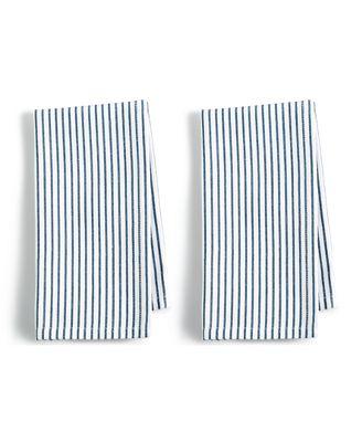 Martha Stewart Blue Pinstripe Napkins