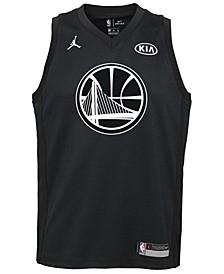 Kevin Durant Golden State Warriors All Star Swingman Jersey, Big Boys (8-20)