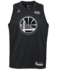 Nike Stephen Curry Golden State Warriors All Star Swingman Jersey, Big Boys (8-20)