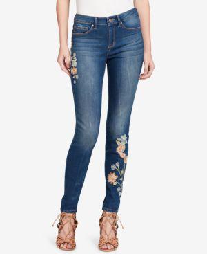 Jessica Simpson Juniors' Kiss Me Ripped Super Skinny Jeans 5486940