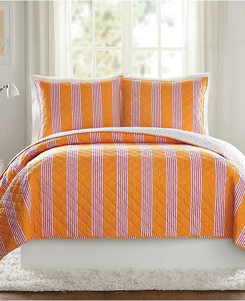 Vera Bradley Louisa Textured Stripe Quilt Collection