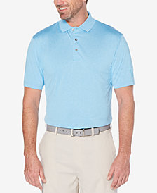 PGA TOUR Men's Heathered Golf Polo Shirt