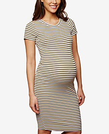 Motherhood Maternity Rib-Knit Sheath Dress