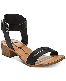 Alecta Ankle-Strap Sandals, Created for Macy's