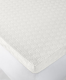 "Martha Stewart Collection Dream Science 3"" Memory Foam Queen Mattress Topper, Created for Macy's"