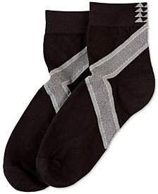 HUE® Women's  Power Compression Mini Crew Socks