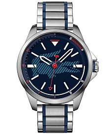 Lacoste Men's Capbreton Stainless Steel Bracelet Watch 46mm