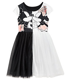 Disney Mickey & Minnie Mouse Love Dress, Little Girls
