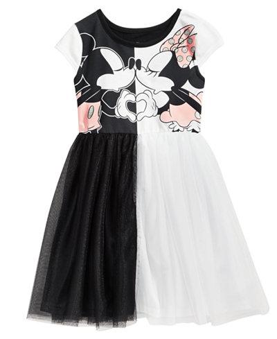 Disney Mickey & Minnie Mouse Love Dress, Little Girls