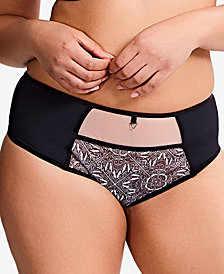 Sculptresse by Panache Dionne Contrast-Panel Brief 9692