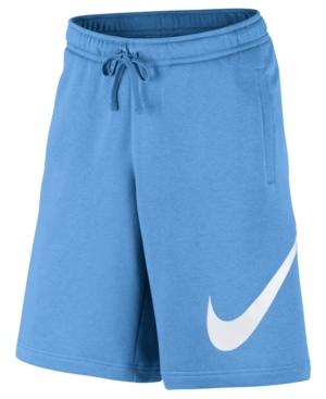 Nike Men S Club Fleece Sweat Shorts In Universal Blue  f2ff1c822bc6
