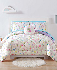 Laura Hart Kids Garden Fairies Full/Queen 3-Pc. Comforter Set