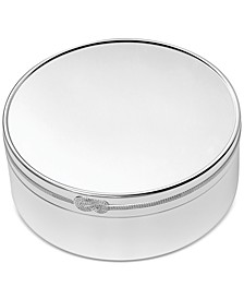 Infinity Small Round Keepsake Box