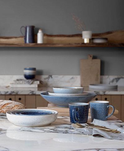 Denby Studio Craft Blue Dinnerware Collection