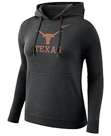 Nike Women's Texas Longhorns Club Hooded Sweatshirt