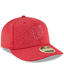 New Era Washington Nationals Clubhouse Low Crown 59Fifty Fitted Cap