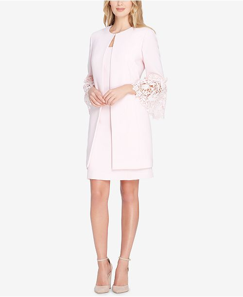 4a4b55e7 Tahari ASL Lace Bell-Sleeve Dress Suit & Reviews - Wear to Work ...