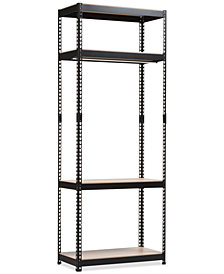 Gavin 4-Shelf Closet Rack, Quick Ship