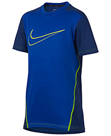 Nike Dry Logo-Print Training T-Shirt, Big Boys