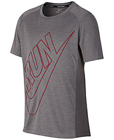 Nike Dry Run-Print T-Shirt, Big Boys