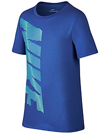 Nike Dry Logo-Print T-Shirt, Big Boys