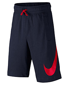 Nike Cotton Sportswear Shorts, Big Boys