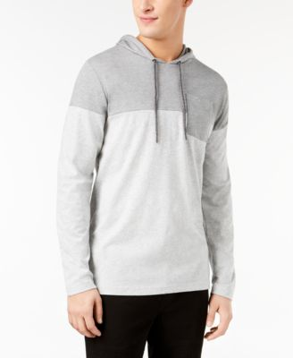 Men's Colorblocked Hooded Pocket T-Shirt, Created for Macy's