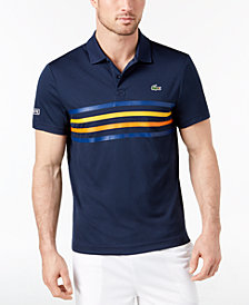 Lacoste Men's Solid Ultra Dry Pique Polo