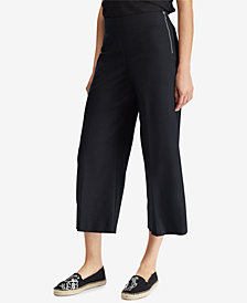Lauren Ralph Lauren Wide-Leg Ankle Pants
