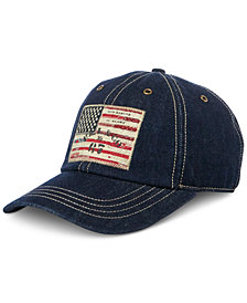 Polo Ralph Lauren Men's Denim Baseball Cap