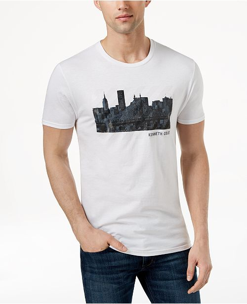 2a3c7cef5a Kenneth Cole New York Kenneth Cole Men s Cityscape Graphic-Print T- ...