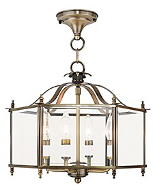 Livingston 4-Light Semi Flush