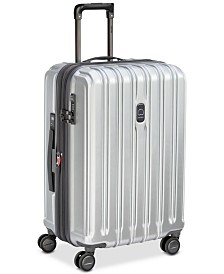 "Delsey ConnecTech 25"" Expandable Spinner Suitcase, Created for Macy's"
