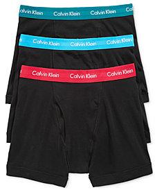 Calvin Klein Men's Cotton Classic Boxer Briefs 3-Pack NU3019