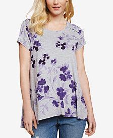 Jessica Simpson Pull-Over Nursing T-Shirt