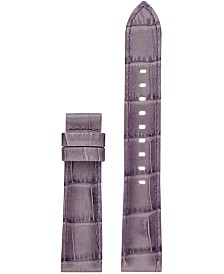 Michael Kors Access Women's Sofie Purple Leather Smart Watch Strap