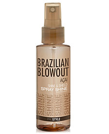 Brazilian Blowout Açai Shine & Shield Spray Shine, 4-oz., from PUREBEAUTY Salon & Spa