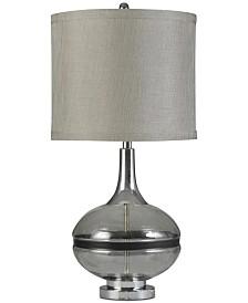 Stylecraft Elyse Smoke Table Lamp