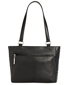 Nappa Classic Leather Tote, Created for Macy's