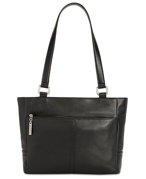 71b71ac3055 ... Giani Bernini Nappa Classic Leather Tote, Created for Macy's ...