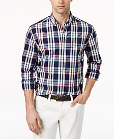 Tommy Hilfiger Men's Fry Plaid Shirt, Created for Macy's