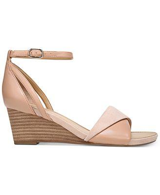 Deirdra Ankle Strap Wedge Sandals