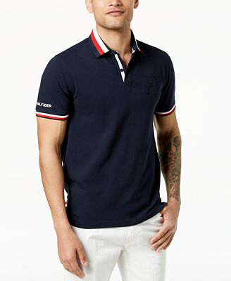 Tommy Hilfiger Men's Jesse Embroidered-Logo Polo, Created for Macy's