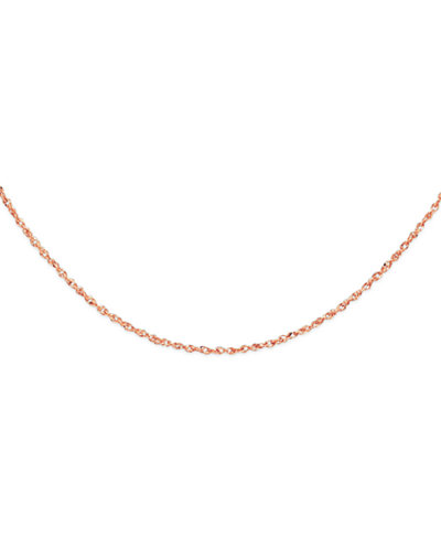 14k Rose Gold 18 Quot Perfectina Chain Necklace Necklaces