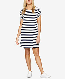 Sanctuary Ojai Cotton Striped T-Shirt Dress