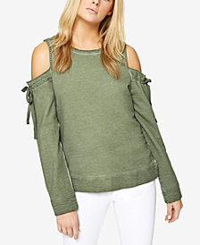 Sanctuary Parkside Cold-Shoulder Sweatshirt