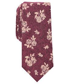Original Penguin Men's Borg Floral Skinny Tie