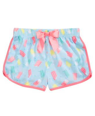 Printed Pajama Shorts, Little Girls & Big Girls, Created for Macy's