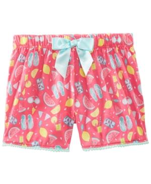 Max  Olivia Printed Pajama Shorts Little Girls  Big Girls Created for Macys